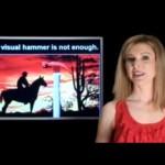 """Лаура Рийс: Концепцията """"Визуален чук"""" и """"Вербален пирон"""" в брандинга (видео)"""