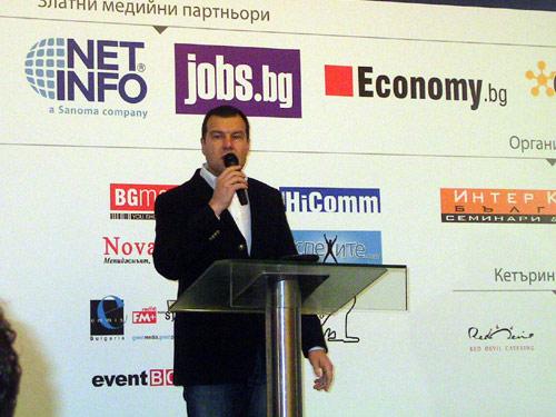 Цветан Давидков открива семинара на Алън Пийз
