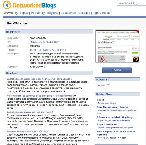 novavizia.com networkedblogs.com