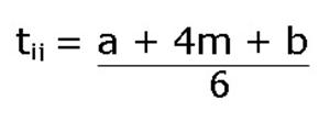 Формула за определяне на времетраене
