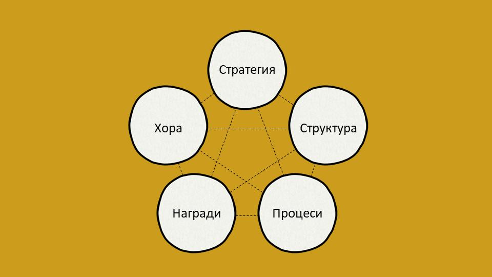 Модел STAR за организационен дизайн на Галбрейт