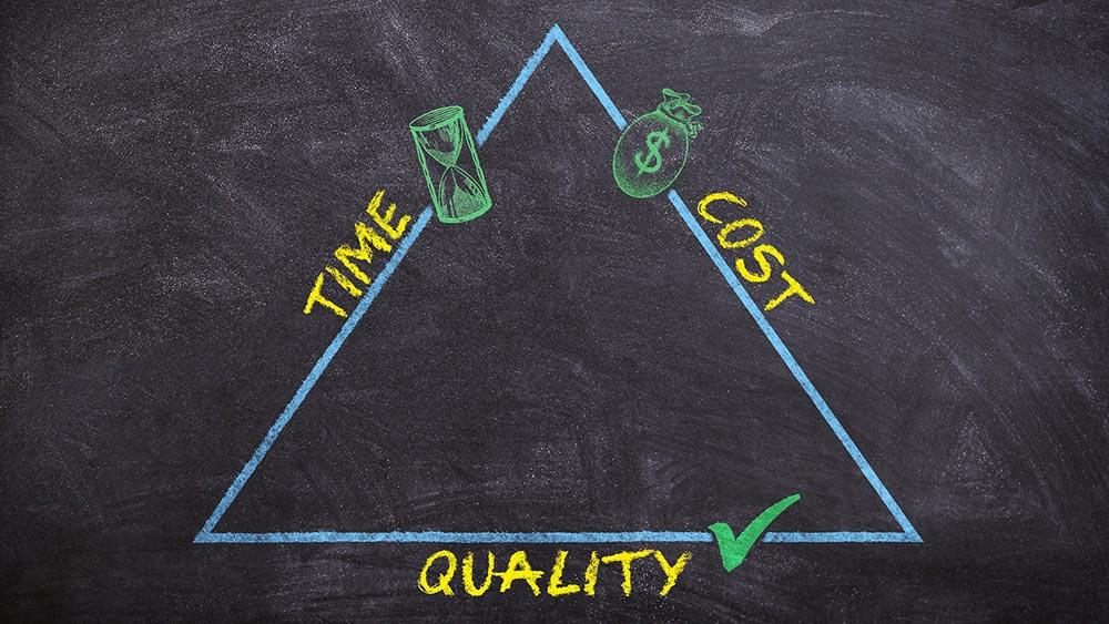 Цена, качество, срокове - невъзможният триъгълник