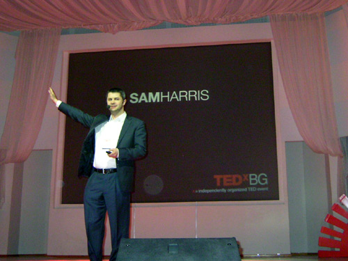 сам харис ted tedxbg 2010 sam harris